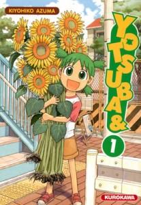 Couverture Yotsuba& Tome 1