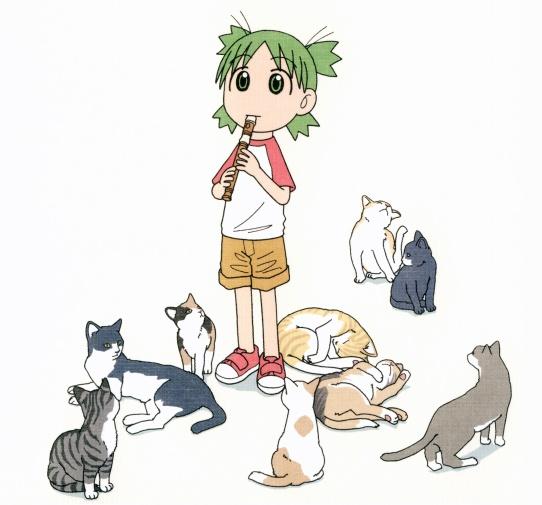 Yotsuba et les chats