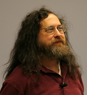 Portrait de Richard Matthew Stallman