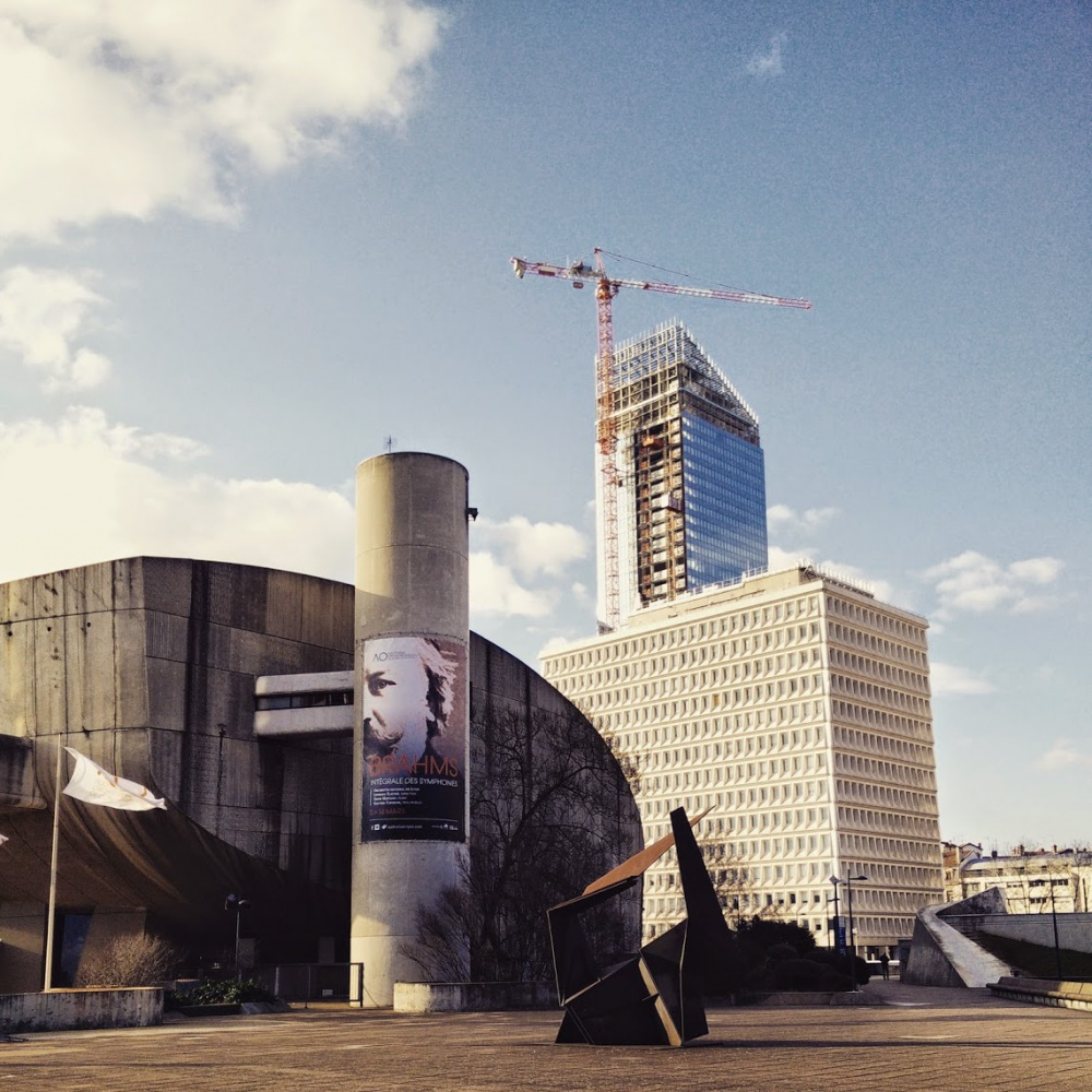 Auditorium + Tour Incity in progess #Lyon