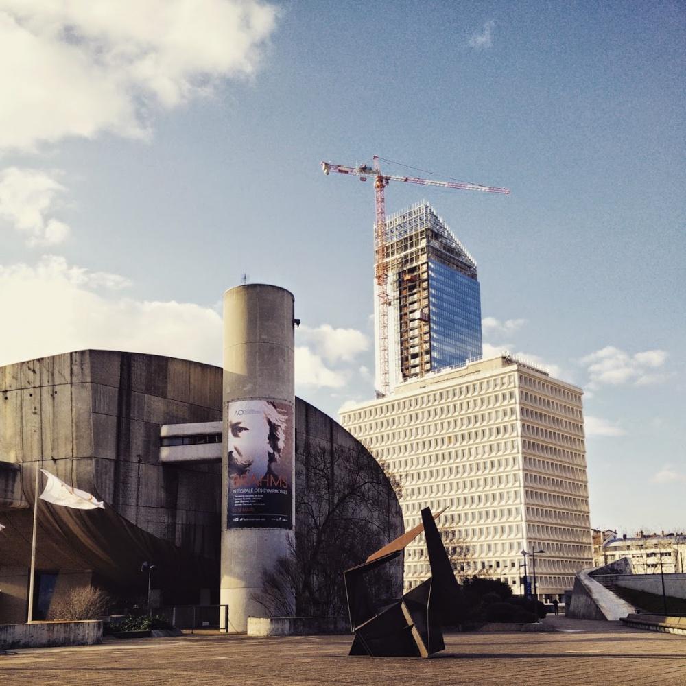 Auditorium + Tour Incity in progess #Lyon