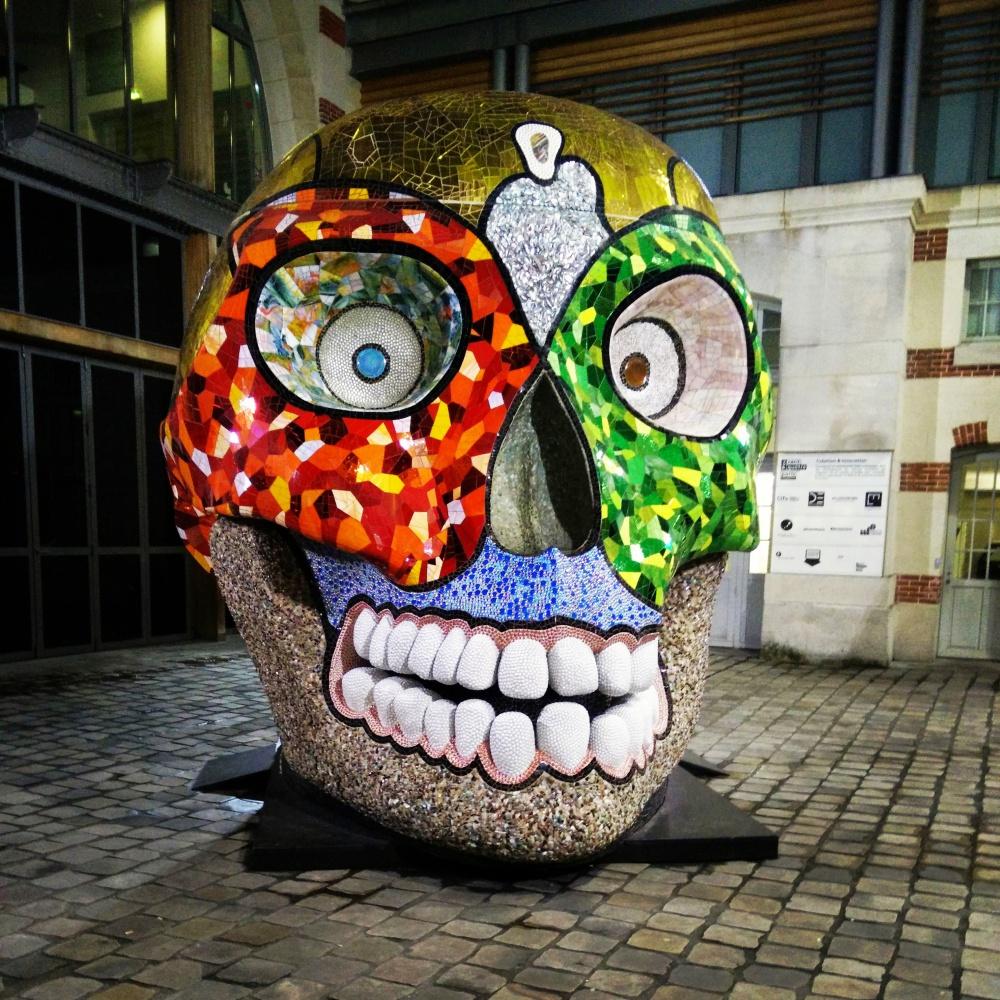 Skull - Nikki de Saint Phalle